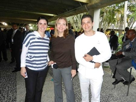 BKs Juan and Kamila representing