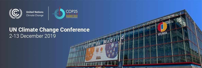 COP25 Website Page Banner