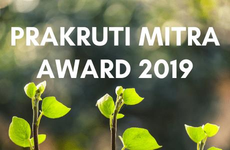 Prakruti Mitra Award 2019