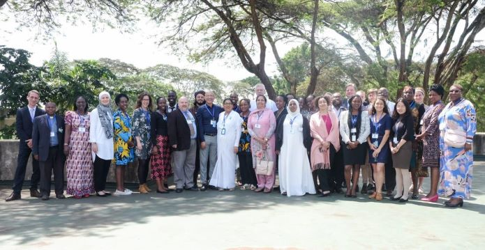 Group photo of participants to the workshop