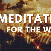 Meditation for the world