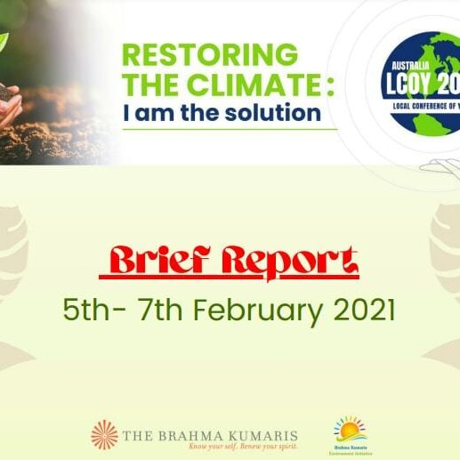 restoring the climate